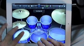 iPad Drum Solo