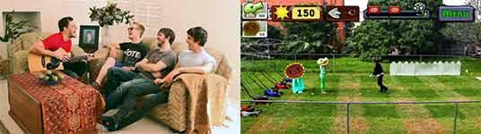 iPhone Games in Real Life, Pflanzen gegen Zombies, Flightplan