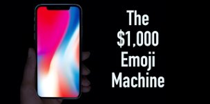 Emoji Handy iPhone X Parodie