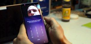 Iris-Scanner Samsung Galaxy S8 Hack