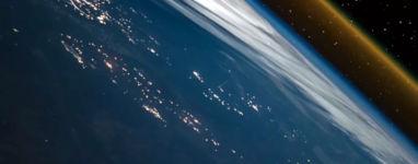 ISS Timelapse Raketenstart