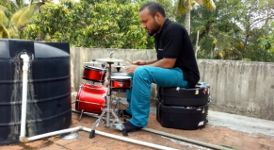 Schlagzeug Rohr Jamming pipe buddy