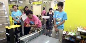 Japanische Rube-Goldberg-Maschine