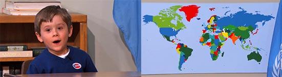Arden Hayes, Länder der Welt