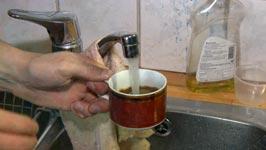 Kaffee, Wasserhahn