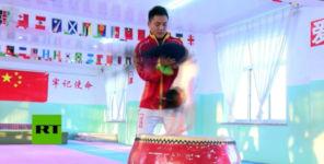 Chinesische Kampfkunstschule Red Children