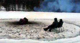 Kanada Eisscholle