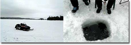 Eisangeln in Kanada
