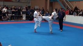 Karate, ko