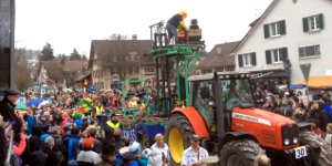 Karnevalswagen Achterbahn Looping