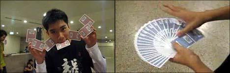 karten tricks, karten mischen, skat, doppelkopf