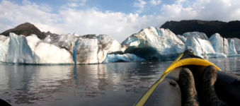 Kayak Eis Wellen