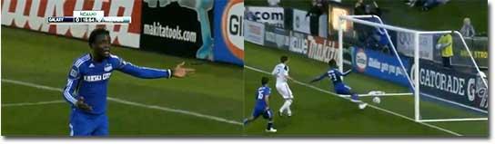 Worst miss of the century - Kei Kamara vs LA Galaxy - EPIC FAIL