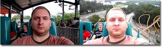 achterbahn, rollercoaster, keine Reaktion, coole sau