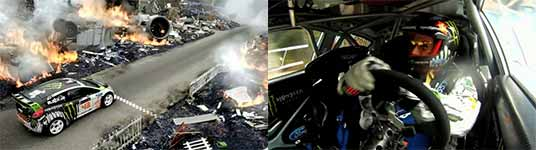 DC, Ken Block, Gymkhana FOUR, The Hollywood Megamercial