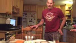 Kerzen Geburtstag Viren krank