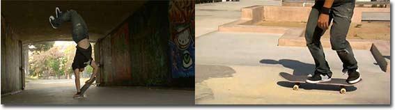 Kilian Martin - A Skate Escalation, skateboard