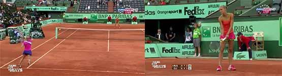 tennis, netzkante, netzpfosten