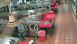 kind, waschmaschine