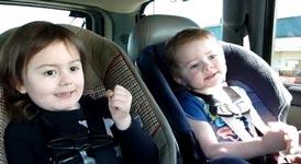 Kindermusik im Auto