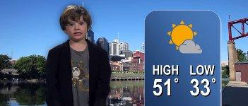 Kindergarten Wetter Report