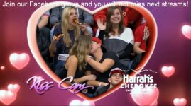 Kiss Cam Pizza Girl