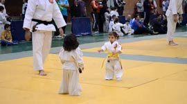 Judo, Kinder