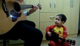 Beatles, Kind, Gitarre