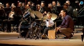 Kind, Schlagzeug