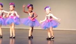 Mädchen, tanzen, Bühne