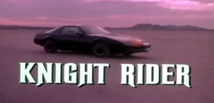 Knight Rider musicless Intro