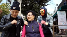 Koreaner erschrecken
