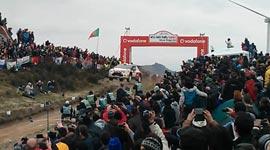 Kris Meeke, WRC Fafe Rallysprint 2014