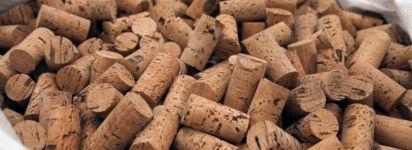 Weinkorken Korken Herstellung