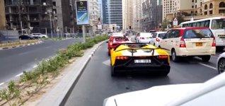 Lamborghini Aventador Feuer