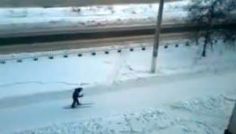 Unterwegs in Russland auf Langlaufski
