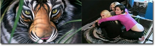 Last South China Tiger - Craig Tracy for Save China's Tigers