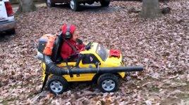 Laubbläser Kinderauto