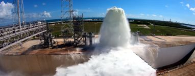 Wasser Test NASA Kennedy Space Center