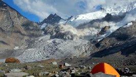 Lawinenabgang im Himalaya