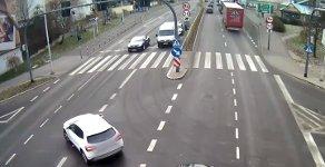 Lebensretter Straßenlaterne