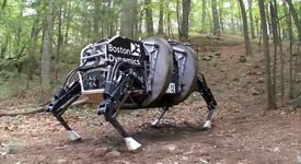 Boston Dynamics, LS3 - Legged Squad Support System