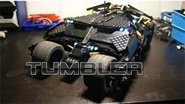 Lego Batmobil Tumbler