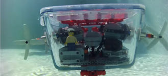 Lego Ikea Pool Uboot