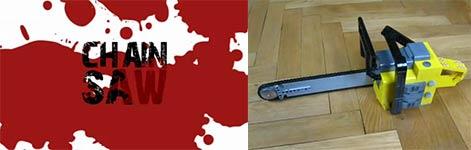 Lego Kettensäge, Spielzeug, Texas Chainsaw Massacre