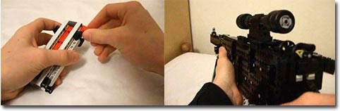 Lego, Scharfschützengewehr