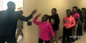 Lehrer Schüler Handshake Schule