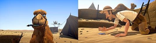 Kurzfilm, Animation, Pyramiden, Kamel