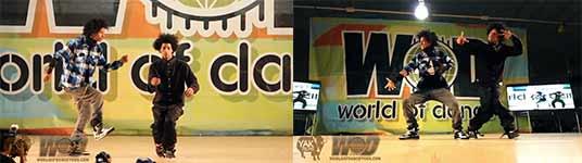 Les Twins - World of Dance 2010, Larry und Laurent