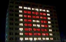 Knight Rider Haus, Beleuchtung